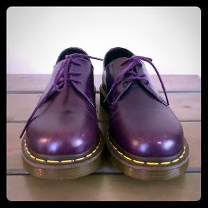 Rare purple Doc Martens new with defect